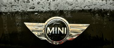 Mini cooper logo Stock Photography
