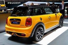 Mini Cooper na Genebra 2014 Motorshow Foto de Stock Royalty Free