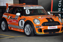 Mini Cooper Race Stock Photos