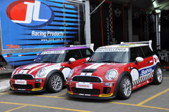 Mini Cooper Race Royalty Free Stock Photo