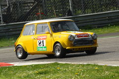 Mini Cooper Racing Royalty Free Stock Photos