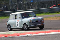 Mini Cooper Racing Royalty Free Stock Images