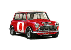 Mini Cooper Racing Stock Image