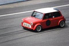 Mini Cooper rosso Immagine Stock