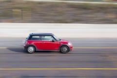 Mini Cooper rouge Photographie stock libre de droits