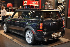 Mini Cooper S. NEW YORK - APRIL 11: Mini Cooper S at the 2012 New York International Auto Show running from April 6-15, 2012 in New York, NY Stock Photography