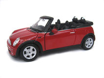 Mini Cooper S Convertible Stock Photo