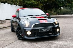 Mini Cooper S JCW Coupe 2012 Royalty Free Stock Image