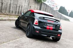 Mini Cooper S JCW Coupe 2012 Royalty Free Stock Photography