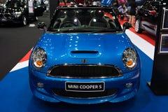 Mini Cooper S na pokazie Obraz Royalty Free
