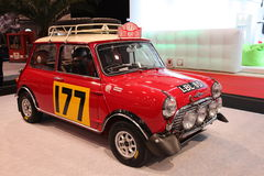 Mini Cooper S Rally Stock Photography