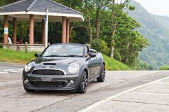 Mini Cooper S Roadster 2012. Royalty Free Stock Photography