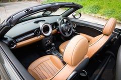 Mini Cooper S Roadster 2012. Royalty Free Stock Photos