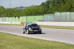Mini Cooper S Sv31 Race Car Stock Photo