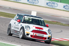 Mini Cooper S Sv31 Race Car Royalty Free Stock Photography