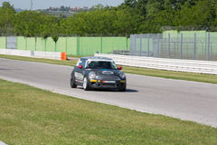 Mini Cooper S Sv31 Race Car Royalty Free Stock Photography