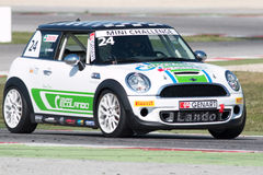 Mini Cooper S Sv31 Race Car Royalty Free Stock Image