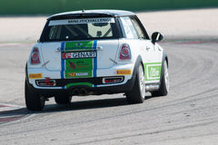 Mini Cooper S Sv31 Race Car Stock Photo