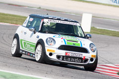 Mini Cooper S Sv31 Race Car Royalty Free Stock Images