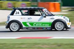 Mini Cooper S Sv31 Race Car Royalty Free Stock Image