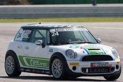 Mini Cooper S Sv31 Race Car Royalty Free Stock Photos