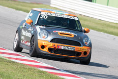 Mini Cooper S Sv31 Race Car Stock Images