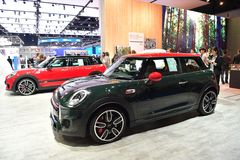 Mini Cooper in The 38th Bangkok International Thailand Motor Show 2017 Royalty Free Stock Images