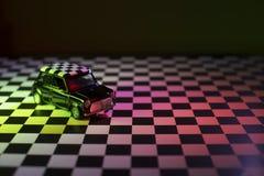Mini cooper toy car studio shot. Royalty Free Stock Photography