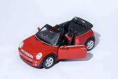 Mini Cooper vermelho fotografia de stock