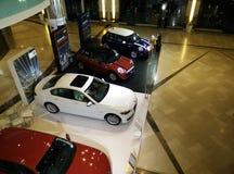 Mini Cooper y BMW Fotografía de archivo