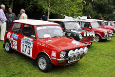 Mini Coopers at Chelsea AutoLegends 2011 Royalty Free Stock Image