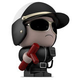 Mini Cop Royalty Free Stock Photo