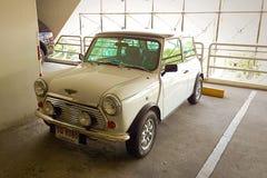 Old Mini Coper car Stock Photography