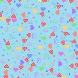 Mini corazones Imagen de archivo libre de regalías
