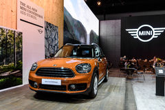 Mini Countryman car. BANGKOK - MARCH 28 : Mini Countryman on display at The 38th Bangkok International Motor Show : Reach to The Planet of Technology on March Stock Images