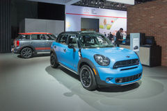 Mini Countryman on display Royalty Free Stock Photography