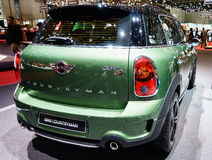 MINI Countryman, Motor Show Geneva 2015. Royalty Free Stock Images