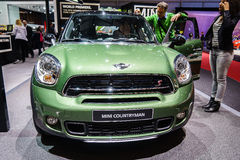 MINI Countryman, Motor Show Geneva 2015. Stock Images
