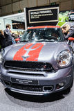 MINI Countryman Park Lane, Motor Show Geneva 2015. Royalty Free Stock Photo