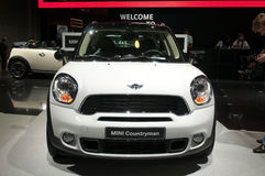 Mini Countryman - Russian premiere Royalty Free Stock Images