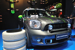 Mini countryman suv front Stock Photo