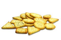 Mini crackers Stock Images