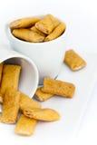 Mini crepes del queso Fotografía de archivo libre de regalías