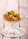 Mini crescents rolls Royalty Free Stock Photos