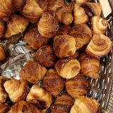 Mini croissant Zdjęcie Stock