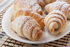 Mini croissant Fotografie Stock Libere da Diritti