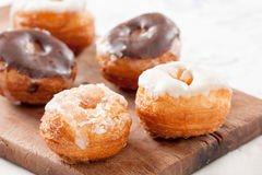 Mini croissant and doughnut mixture assortment Royalty Free Stock Photo