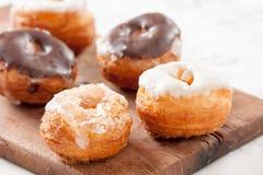 Mini croissant and doughnut mixture assortment Royalty Free Stock Photo