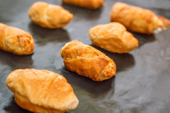 Mini Croissants Fotografia Royalty Free