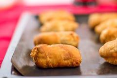 Mini Croissants Foto de Stock